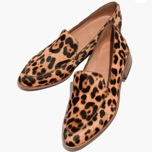 Madewell The Frances Loafer in Leopard Print